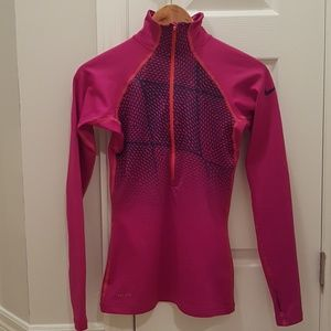 Nike Tops - Nike Pro DRI-Fit pink long sleeve top woman XS
